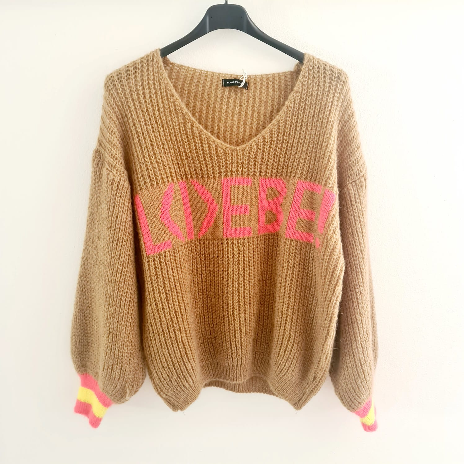 Statement Knit-Pullover